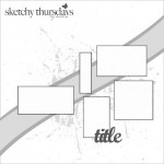 Sketchy Thursday – Bathing Beauty