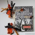 Hallowe'en Mini Album for Practical Scrappers