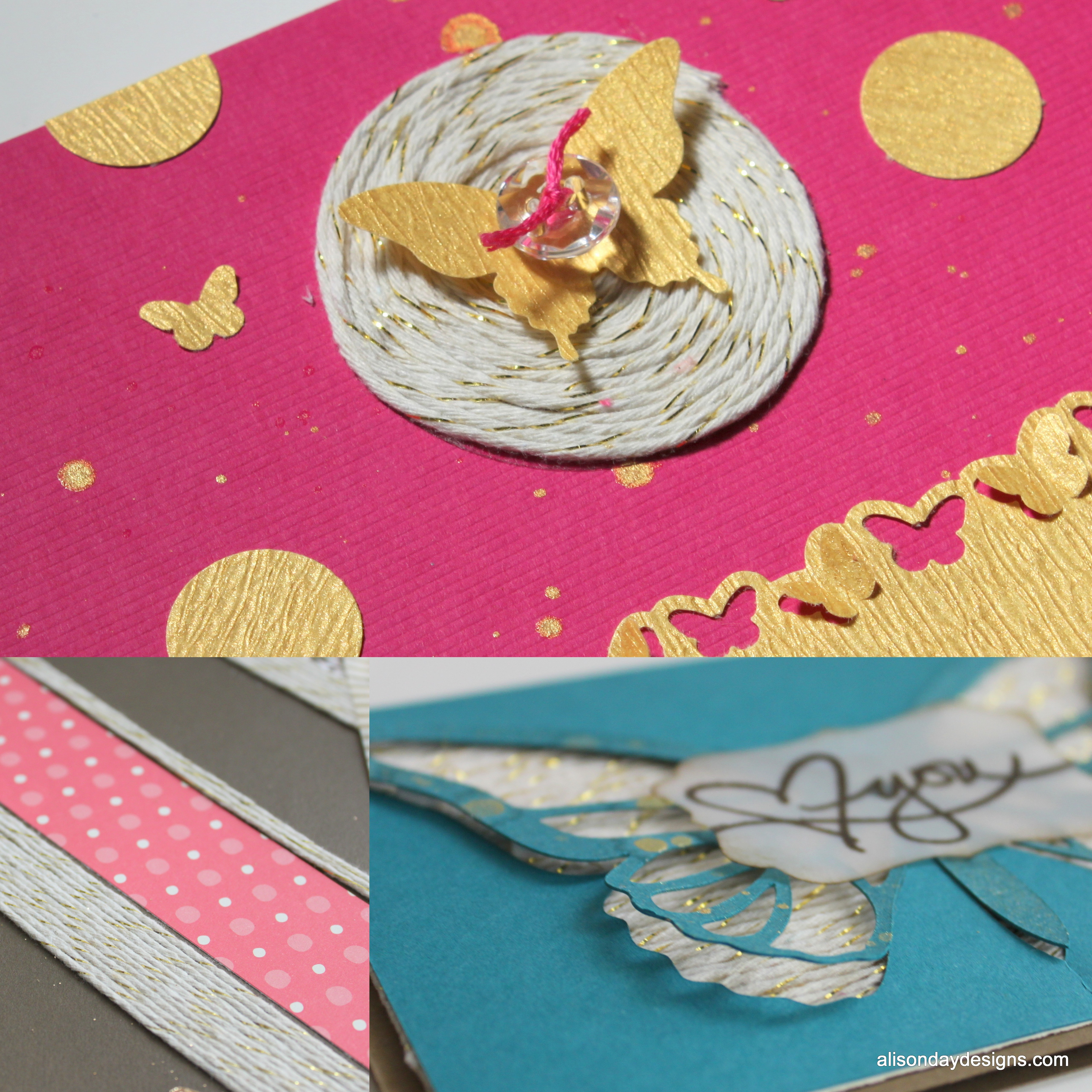 Playing With Twine Today For Scrapbook Steals Alison Day Designs
