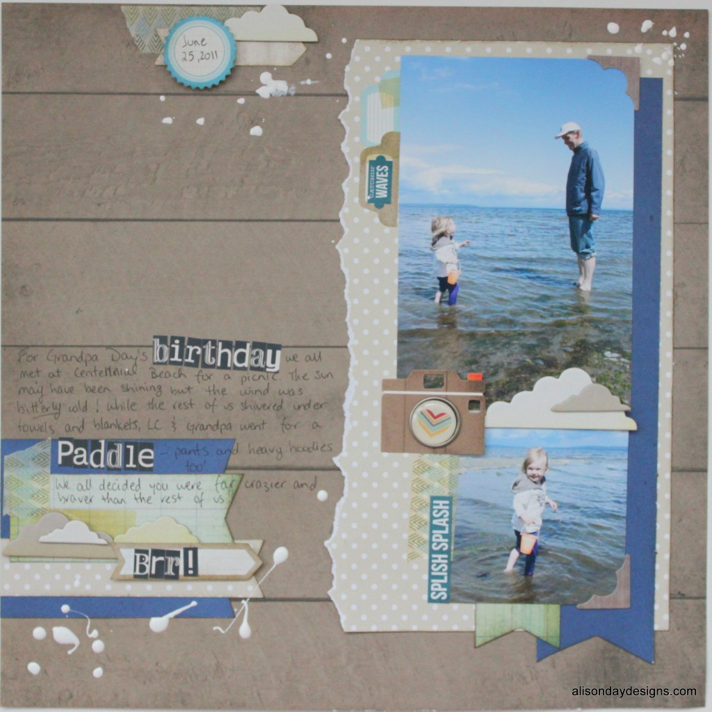 Birthday Paddle by Alison Day Designs