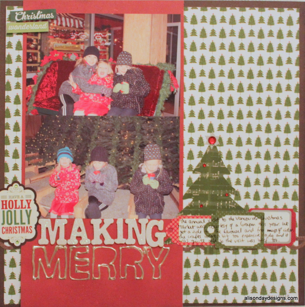 LGS Bingo challenge - Making Merry