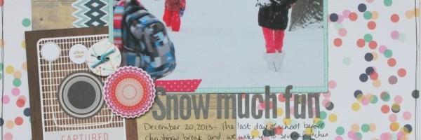 Snow Much Fun layout