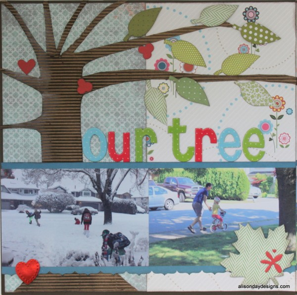 Our Tree by Alison Day - left side