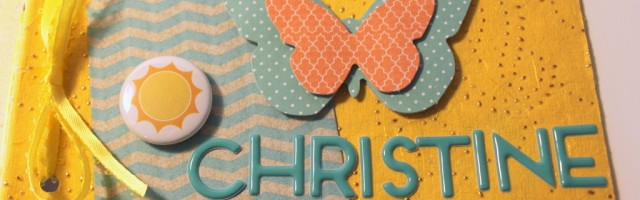 Mini Album for Christine