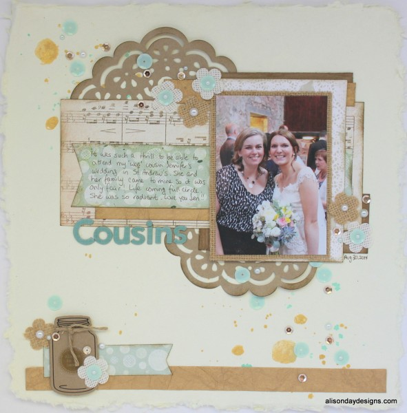 Cousins by Alison Day for Creative Scrappers