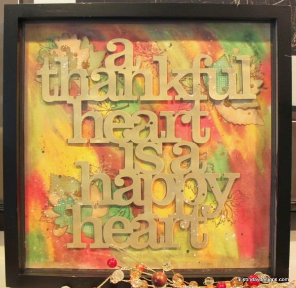 A Thankful Heart Thanksgiving Decor