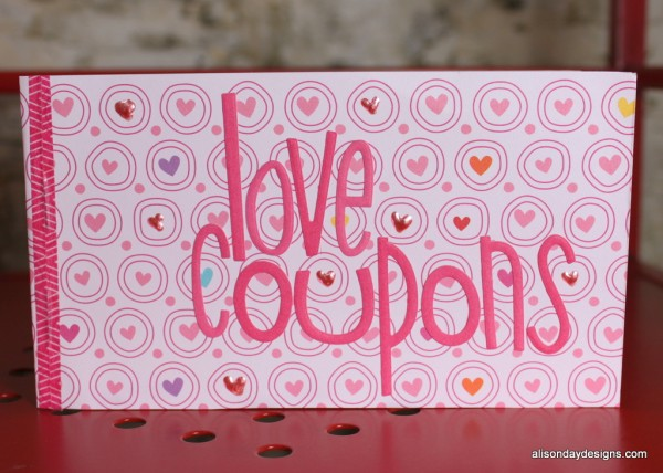 Create a Little Love Early Bird Bonus Coupon Book - cover
