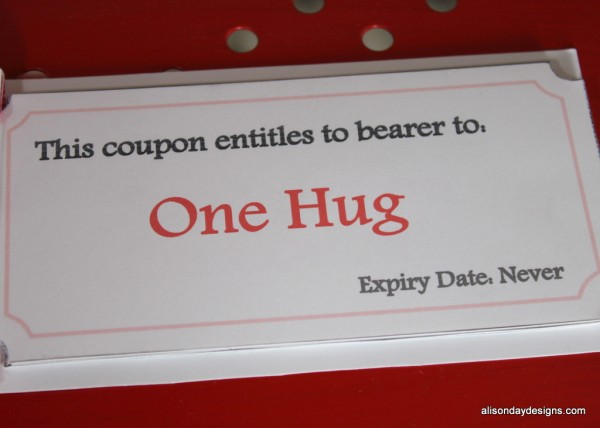 Create a Little Love Early Bird bonus coupon Book - inside look