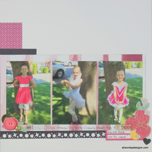 Dance - right page by Alison Day Designs