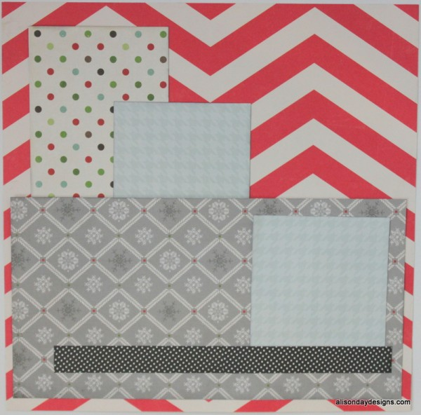 Horizontal Starting Point with Grounding line and Journaling Box by Alison Day Designs