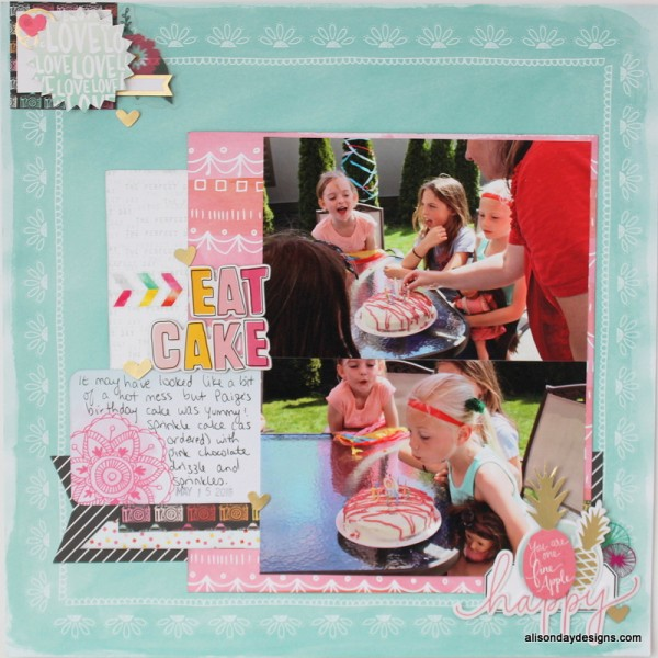 Eat Cake by Alison Day Designs