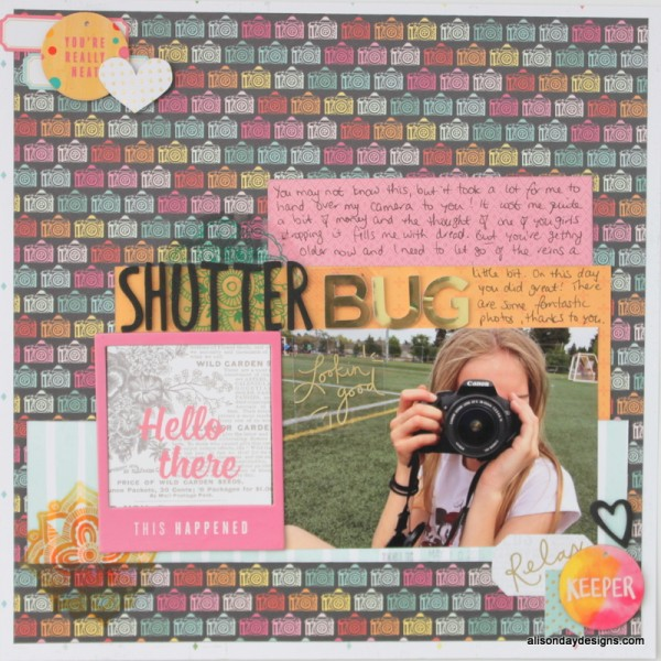 Shutter Bug by Alison Day Designs