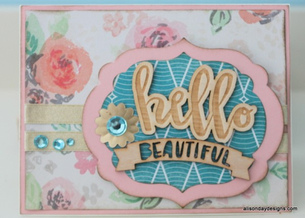 Hello Beautiful by Alison Day Designs