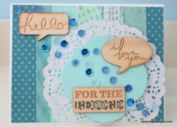 For the Record by Alison Day Designs