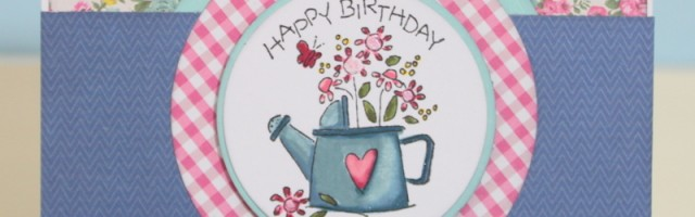Happy Birthday Wildflowers by Alison Day Designs