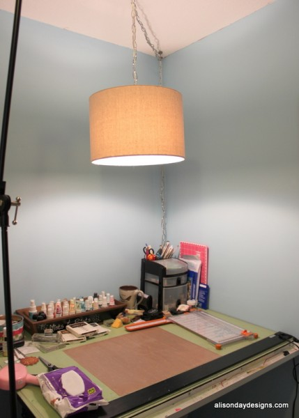 New Hanging Lamp in situ by Alison Day Designs