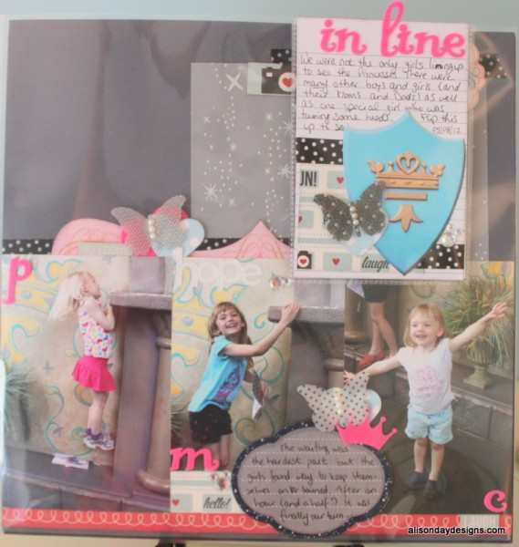 In Line (for the Princesses) by Alison Day Designs