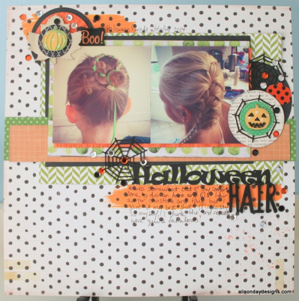 Halloween Hair by Alison Day Designs