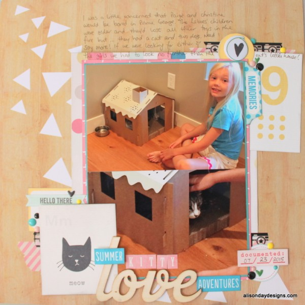 Kitty Love by Alison Day Designs