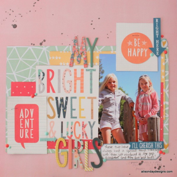 My Bright, Sweet & Lucky  Girls by Alison Day Designs