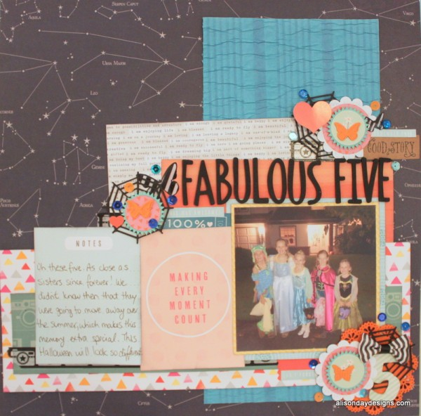 Fabulous Five by Alison Day Designs