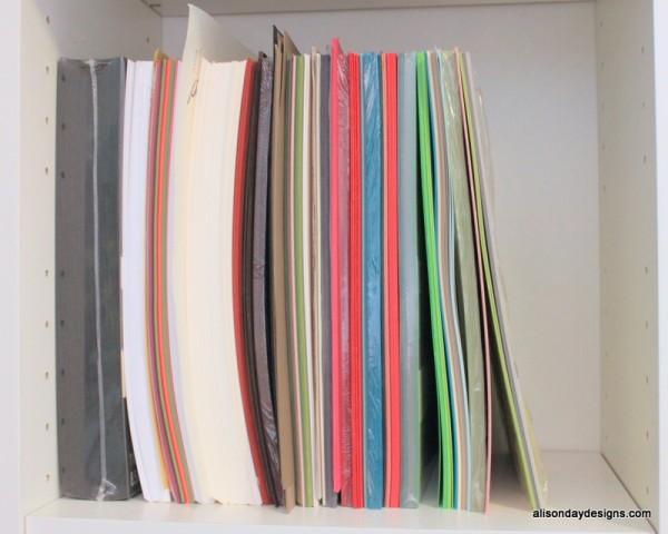 8.5x11 paper storage