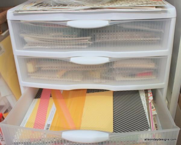 Gossamer Blue kits paper scraps