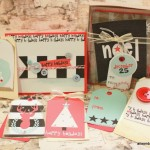 Tags created using Jen Gallacher's printables from the Creative Christmas Bundle by Scrapbook Bundles