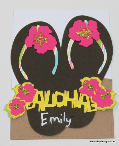 Aloha Birthday Invitations by Alison Day Designs