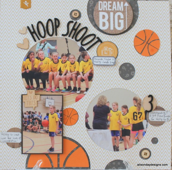 Hoop Shoot by Alison Day Designs
