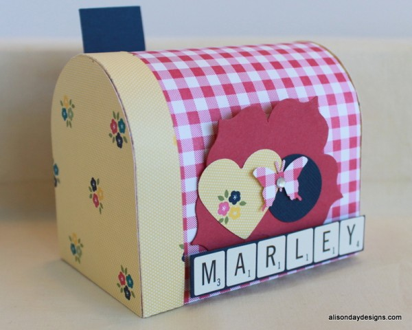 3D Mailbox by Alison Day Designs