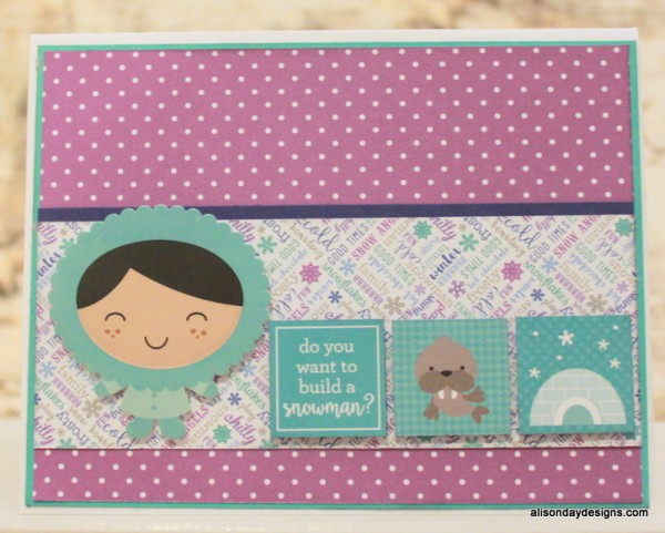 Do You Want to Build a Snowman card by Alison Day Designs