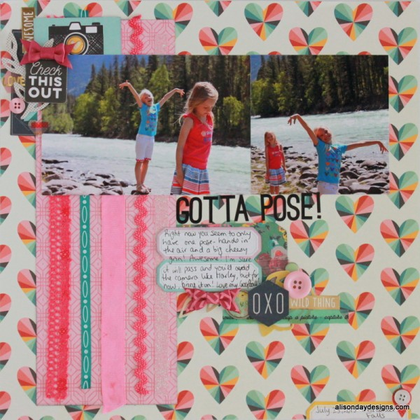 Gotta Pose by Alison Day Designs