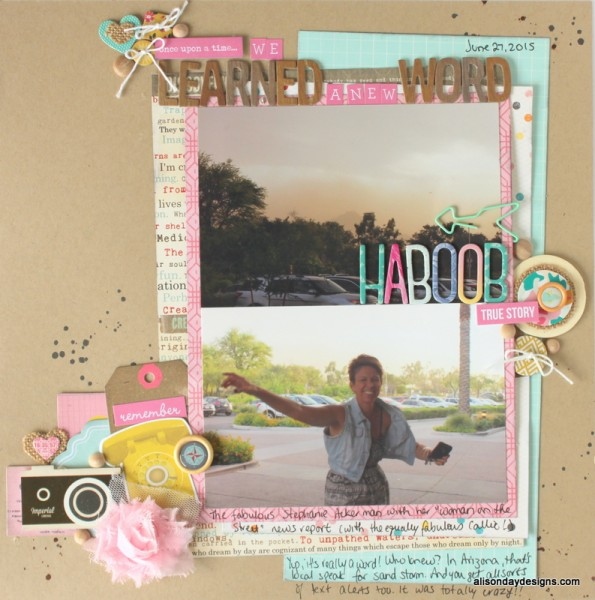 LOAD4 - Once Upon a Time We Learned a new Word by Alison Day Designs