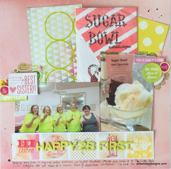 LOAD5 - Happy 2B First by Alison Day Designs