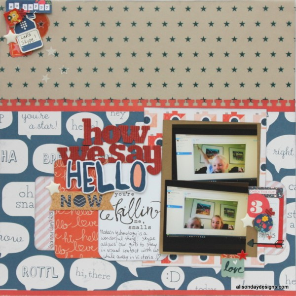 LOAD15 - How We Say Hello Now by Alison Day Designs