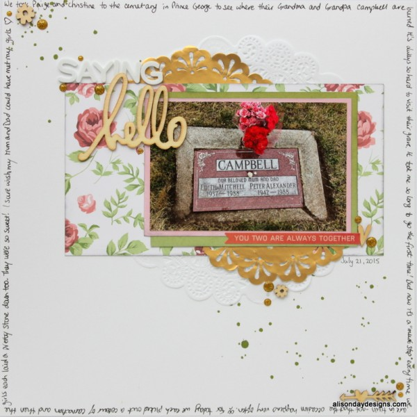 LOAD17 - Saying Hello by Alison Day Designs
