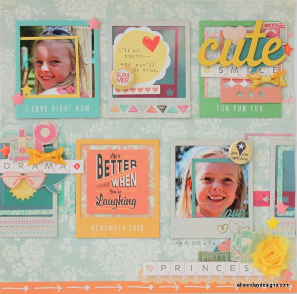 Cute Smile by Alison Day Designs using frames