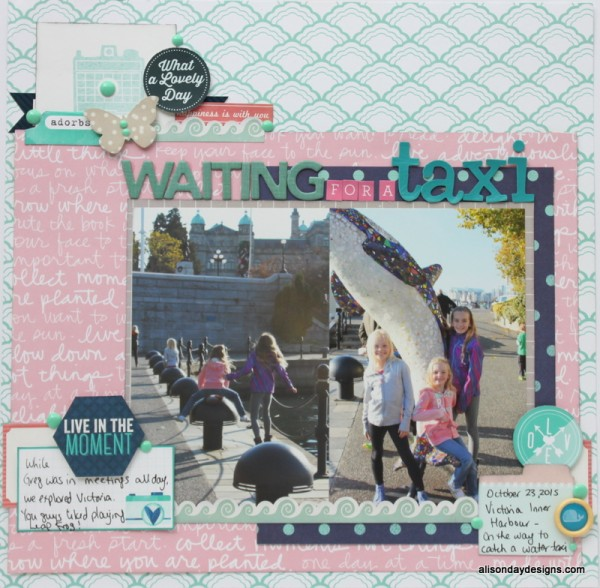 LOAD23 - Waiting for a Taxi by Alison Day Designs