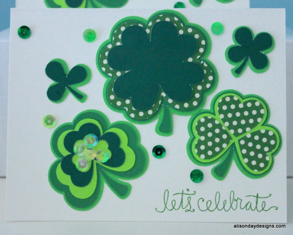 IMG_4162Layered Shamrock Card by Alison Day Designs