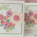 Stamping a Bouquet for Springtime