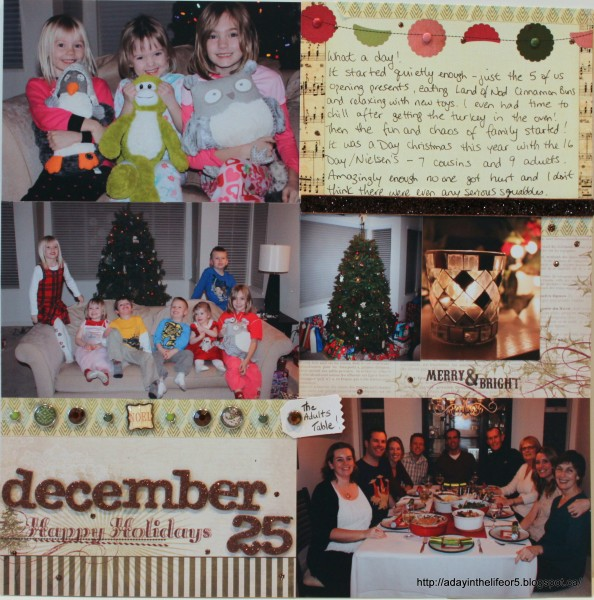 December 25 by Alison Day Designs