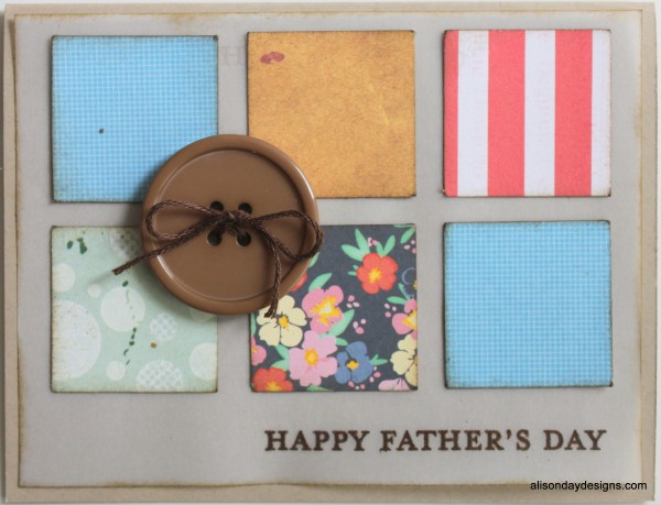 Father's Day Card by Alison Day Desgins