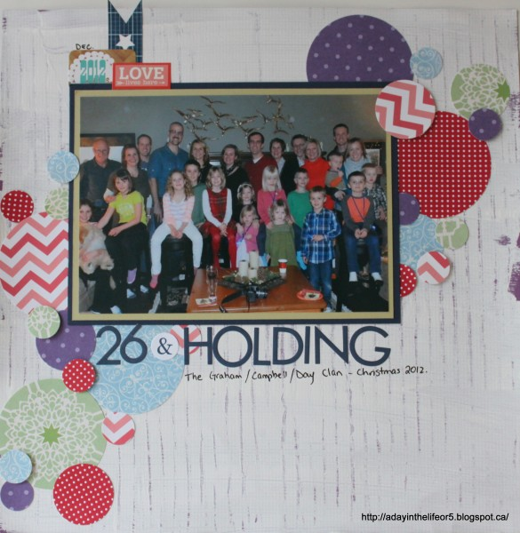 26 and Holding by Alison Day Designs