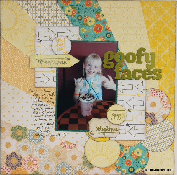 Goofy Faces by Alison Day Designs