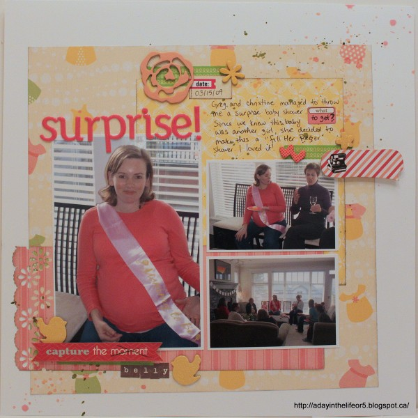LOAD213-6 Surprise! by Alison Day Designs