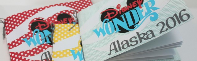 Disney Cruise autograph books by Alison Day Designs