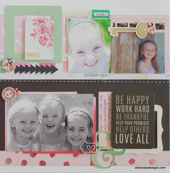 Love X Three right page by Alison Day Designs