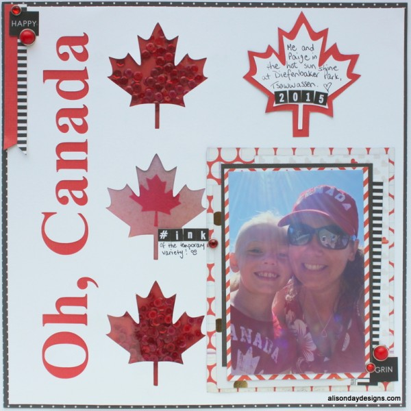 Oh Canada by Alison Day