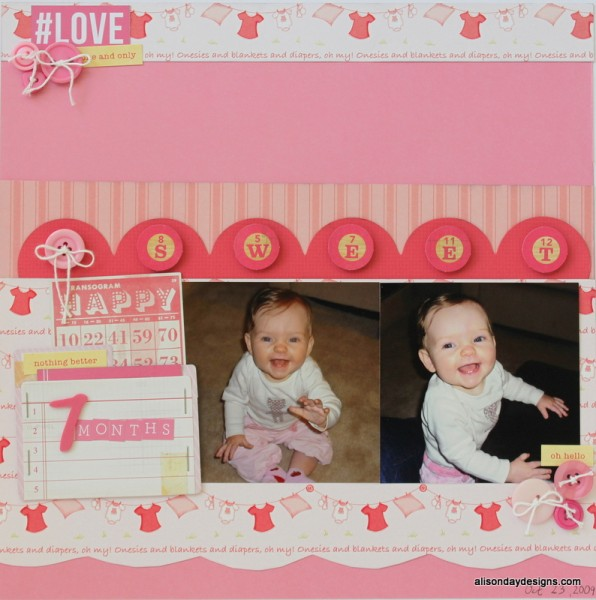 7 Months by Alison Day Designs